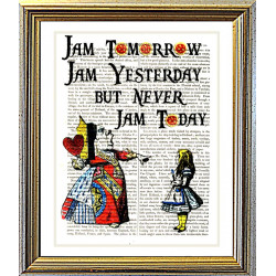 Alice in Wonderland: Never Jam Today !