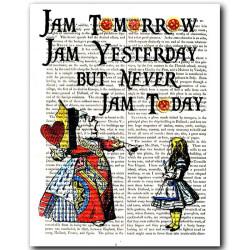 Alice in Wonderland: Never Jam Today !