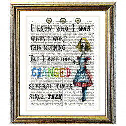 I Knew Who I Was by Alice in Wonderland