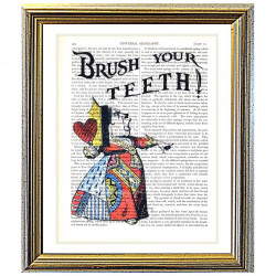 Alice in Wonderland: Brush Your Teeth !
