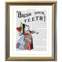 Alice in Wonderland: Brush Your Teeth !