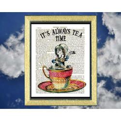 Mad Hatter It's Always Tea Time