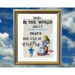 Who In The World Am I ? Alice in Wonderland