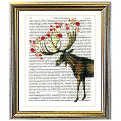 Roses on a Moose