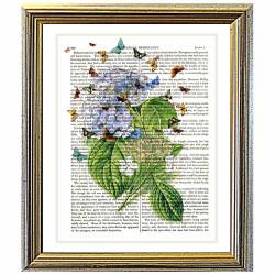 Hydrangea Butterflies