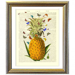Pineapple and Butterflies