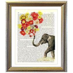 Elephant Flower Power