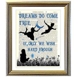 Peter Pan. Dreams Do Come True