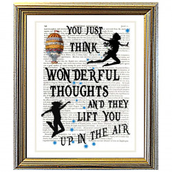 You Just Think Wonderful Thoughts by Peter Pan
