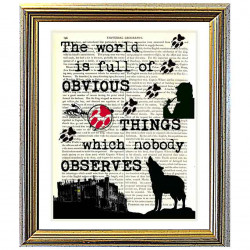 Sherlock Holmes and Obvious Things