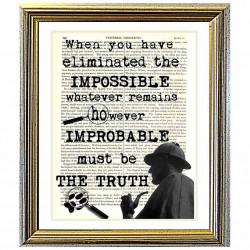 Sherlock Holmes and The Truth