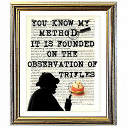Sherlock Holmes and Trifles